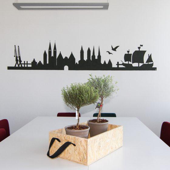 Wandmalerei   Illustration   Lübeck