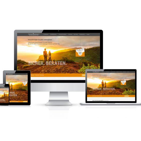 Webdesign  Stephan Barnewitz Versicherungsmakler GmbH