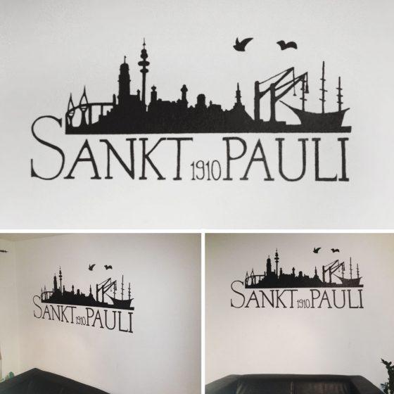 Wandmalerei   Illustration   Hamburg